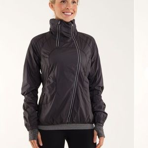 Lululemon Run Black Inspire Jacket